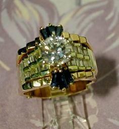 Ring, Diamond Bow Tie