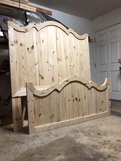 home made furniture Diy Furniture Building, Diy Furniture Plans, Farmhouse Furniture, Furniture Projects, Furniture Makeover, Farmhouse Decor, Home Bedroom, Bedroom Decor, Bedrooms