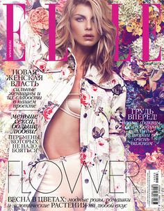 Elle Russia Cover with Angela Lindval shot by the fashion photographer Xavi Gordo represented by 8AM -  8 Artist Management  | #artistmangement #fashion #editorial #Elle #8artistmanagement #xavigordo ★★ 8AM / 8 Artist Management ★★  more photos in http://8artistmanagement.com/