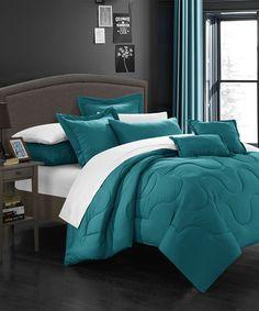 Teal bed set, Target. Threshold Pinched Pleat Duvet Cover Set   For ...