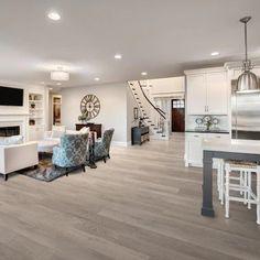 Vinyl Wood Flooring, Luxury Vinyl Flooring, Luxury Vinyl Plank, Grey Flooring, Flooring Ideas, Waterproof Vinyl Plank Flooring, Wide Plank Laminate Flooring, Flooring Options, Living Room Wood Floor