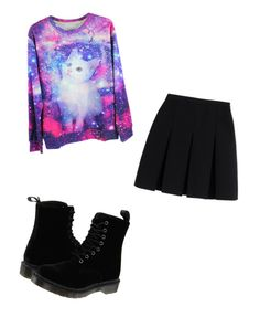 """Untitled #324"" by monsterhigh837 on Polyvore featuring Alexander Wang and Dr. Martens"