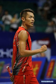 The world number one badminton player The thought of sport is a process that emerges Best Badminton Racket, Badminton Photos, Famous Sports, Basketball Skills, Olympic Committee, International Football, Sport Quotes, Number One