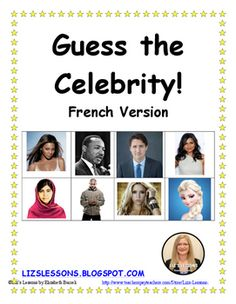 """Guess the Celebrity! French Version"" on SALE now for only $3!"