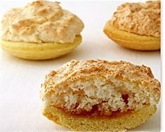 Recipe for South African favourite, Hertzogkoekies (coconut tarts).