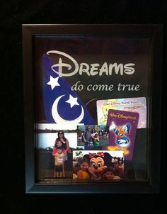Disney Memories Etched Shadow Box by JOYfulLivingDesigns on Etsy