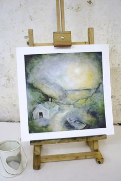 Giclee 'Fisherman's Cove' Limited Edition Print