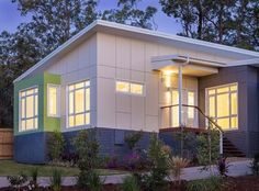 The Lisbon - Granny Flat 4 Bed 2 Bath Prefab Container Home by Nova Deko
