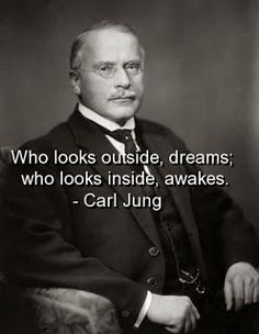 Carl Jung Depth Psychology: We also live in our dreams, we do not live only by day.