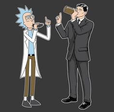 Rick and Morty • Archer