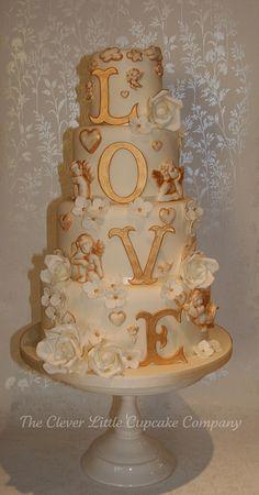 LOVE Wedding Cake | Flickr - Photo Sharing!