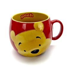 Disney Winnie The Pooh mug Cup New Genuine Authentic barrel ceramic exclusive Winnie The Pooh Mug, Disney Winnie The Pooh, Mug Cup, Barrel, Cups, Ceramics, Tea, Coffee, Ceramica