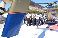 TGH Aeromed was on hand in a mock helicopter crash with Sarasota Memorial Hospital June 17.