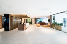 The recent design of Old Mutual's Alternative Investments branch by Inhouse Brand Architects proves to be a success, naturally. Architectural Design Studio, Architecture Design, Wood Interiors, Office Interiors, Retail Sector, Interior Design, Architects, Projects, Alternative