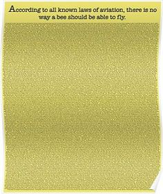The Entire Bee Movie Script  Posters