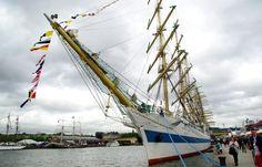 Un voilier lors de l'Armada de Rouen