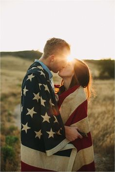 This would be cute if we could get a flag for our pictures since my fiancé is in the Air Force ❤️