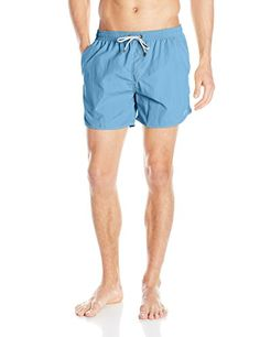 27dbb51621 Amazon.com: BOSS HUGO BOSS Men's Lobster 5-Inch Solid Swim Trunk: Clothing