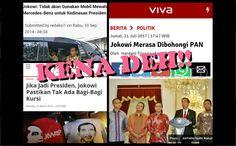 Berita Islam ! Jokowi Kecewa Merasa Dibohongi PAN Netizen: Sejak 2012 Kami Sudah Puluhan Kali Dibohongi Pak Jokowi!... Bantu Share ! http://ift.tt/2tzRCPe Jokowi Kecewa Merasa Dibohongi PAN Netizen: Sejak 2012 Kami Sudah Puluhan Kali Dibohongi Pak Jokowi!  Partai Amanat Nasional (PAN) berbeda sikap dengan koalisi parpol pendukung pemerintah dalam paripurna DPR Kamis malam 21 Juli 2017. Jokowi pun memberikan tanggapan serius mengenai hal ini. Jokowi mengatakan sehari sebelum paripurna sempat…
