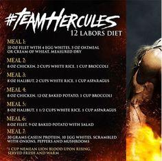 Laboring through The Rock's 'Hercules diet'