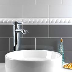 Gloss Elephant and Castle Grey Smooth Metro Tiles Bathroom Border Tiles, Room Tiles, Bathroom Wall, White Wall Tiles, Grey Tiles, Porcelain Tile Cleaner, Bubble Bath Homemade, Wall Tile Adhesive, Flat Marbles