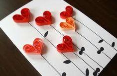 Saint Valentine, Valentines Diy, Diy And Crafts, Paper Crafts, Paper Birds, Mothers Day Crafts, Valentine Decorations, Anniversary Cards, Diy Cards