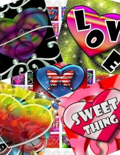Designed Love Images Collage Sheet for Download and Print by barbosaart for $3.99