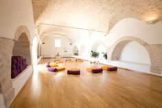 YOGA SPACE- La Rosa dei 4 Venti, Yoga retreat  in Apulia, Italy Loved and Pinned by www.downdogboutique.com to our Yoga community boards