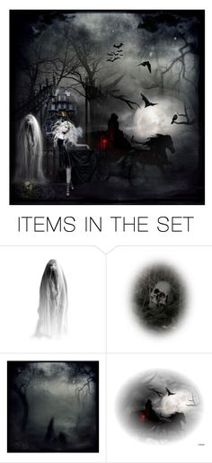 """""""mystic vampire lady with dark evil demons"""" by be-you-tiful-fashion ❤ liked on Polyvore featuring art, Halloween, Dark, scary and evil"""