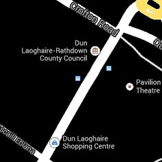 Co Hall map - Dún Laoghaire-Rathdown County Council