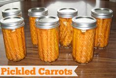 I recently got an email from reader, Susan, about pickled carrots. They looked so amazing I emailed her right back and asked for her recipe. She was gracious enough to share it. Here's what she had to say: Mavis- I hear you on the itching to can! I was...