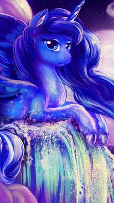Animated unicorn screensavers free photo wallpapers - Princess luna screensaver ...