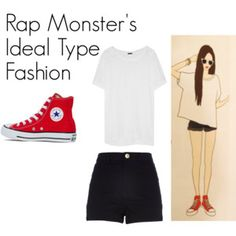 Rap Monster's Ideal Type Outfit