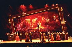 Sets appeal: jaw-dropping stage designs from around the world – in pictures