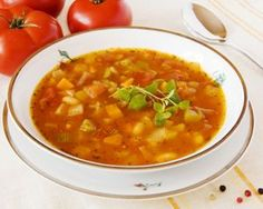 SOUP: 17 Day Diet Slimming Soup (can be made vegetarian by swapping chicken stock for veg) #17daydietrecipes