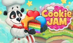 Chef Panda and his goods! Play here --> http://sgn.me/a27 #playcookiejam