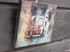 """Купить Интерьерное панно """"Итальянские зарисовки-2"""" - для дома, интерьер, кантри, картина, панно, подарок"""