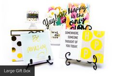 """Oh Happy Day"" - Happy Birthday Gift Box"