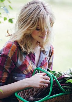 sophie dahl-I would like to look like this when I pick beets...