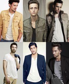 Men's Basic Tees Lookbook