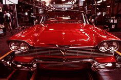 Christine a 58 Plymouth Fury.