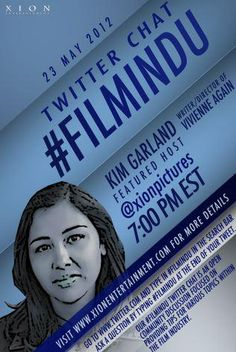 "I'll be the guest on @xionpicture's #FilmIndu chat on 5/23 @ 7pm discussing the making of ""Vivienne Again."" If you're on Twitter, join in!"