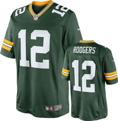 Aaron Rodgers Green Bay Packers Jersey GREEN LARGE