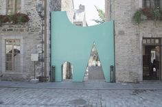 Petite Vie, part of Les Passages Insolites, by Francis Fontaine, Luca Fortin and Pascal Labelle