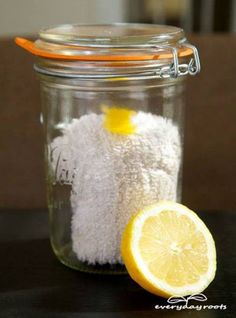 How To Make Lemon Dust Cloths | Health & Natural Living