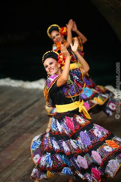Mexican Folk-Dance performance in Xcaret-Quintana Roo, Mexico