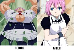 Be careful who you call ugly in middle school ~ Happy #anime #memes #funny…