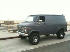 My lifted van