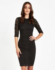 LBD Lipsy Yumi Stretch lace Dress