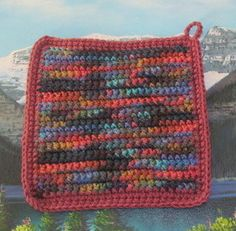 Hey, I found this really awesome Etsy listing at https://www.etsy.com/listing/262615085/0242-hand-crochet-double-thick-hot-pad